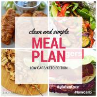 Meal Plan Monday (Low Carb/Keto Friendly Edition)