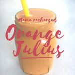 Healthy Orange Julius (aka Sweet Potato Julius)