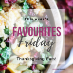 Thanksgiving Favourites