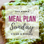 Mama Recharged Meal Plan Sunday – Black Friday Special