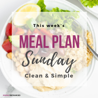 Meal Plan Sunday – New Year Plan